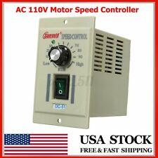 Ac 110v Phase Motor Speed Controller Adjustable Unit Variable For Dc 51 90v E