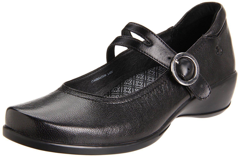 ARAVON TONYA WSTO6BK MARY JANA WOMEN'S BLACK COMFORT WORK Schuhe SZ 10.5B
