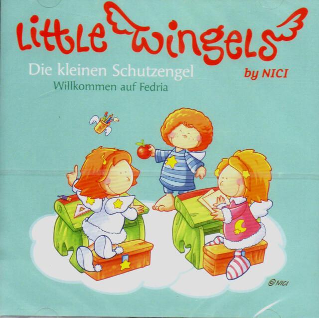 Little Wingels - Die kleinen Schutzengel - Willkommen auf Fedria - CD  NEU/OVP