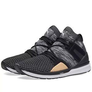 Puma B.O.G. BLAZE OF GLORY Limitless Evoknit Black HI Sneakers Mens ... df0a997a7