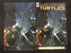 TMNT Teenage Mutant Ninja Turtles #80 Exclusive Mattina Variant Cover IDW Comics