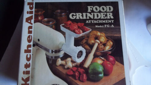 Kitchen Aid FG-A Food Grinder Attachment New in Box