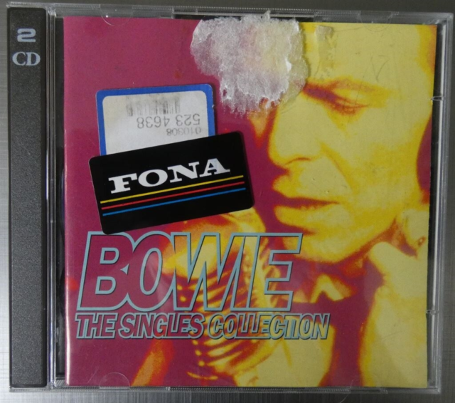 David Bowie: The Singles Collection, rock, CD 1: - Space…