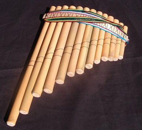 Large Peruvian panpipes