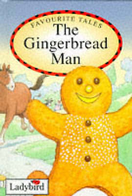 """AS NEW"" Favourite Tales: the Gingerbread Man, Audrey Daly, Book"