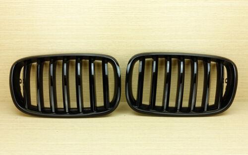 Shiny Black Front Grille Grill for BMW E71 X6 E70 X5 30d 40d 35d
