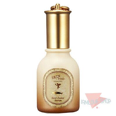[SKINFOOD] Gold Caviar Serum 45ml Wrinkle Care Moist Rich Essence Dry Korean
