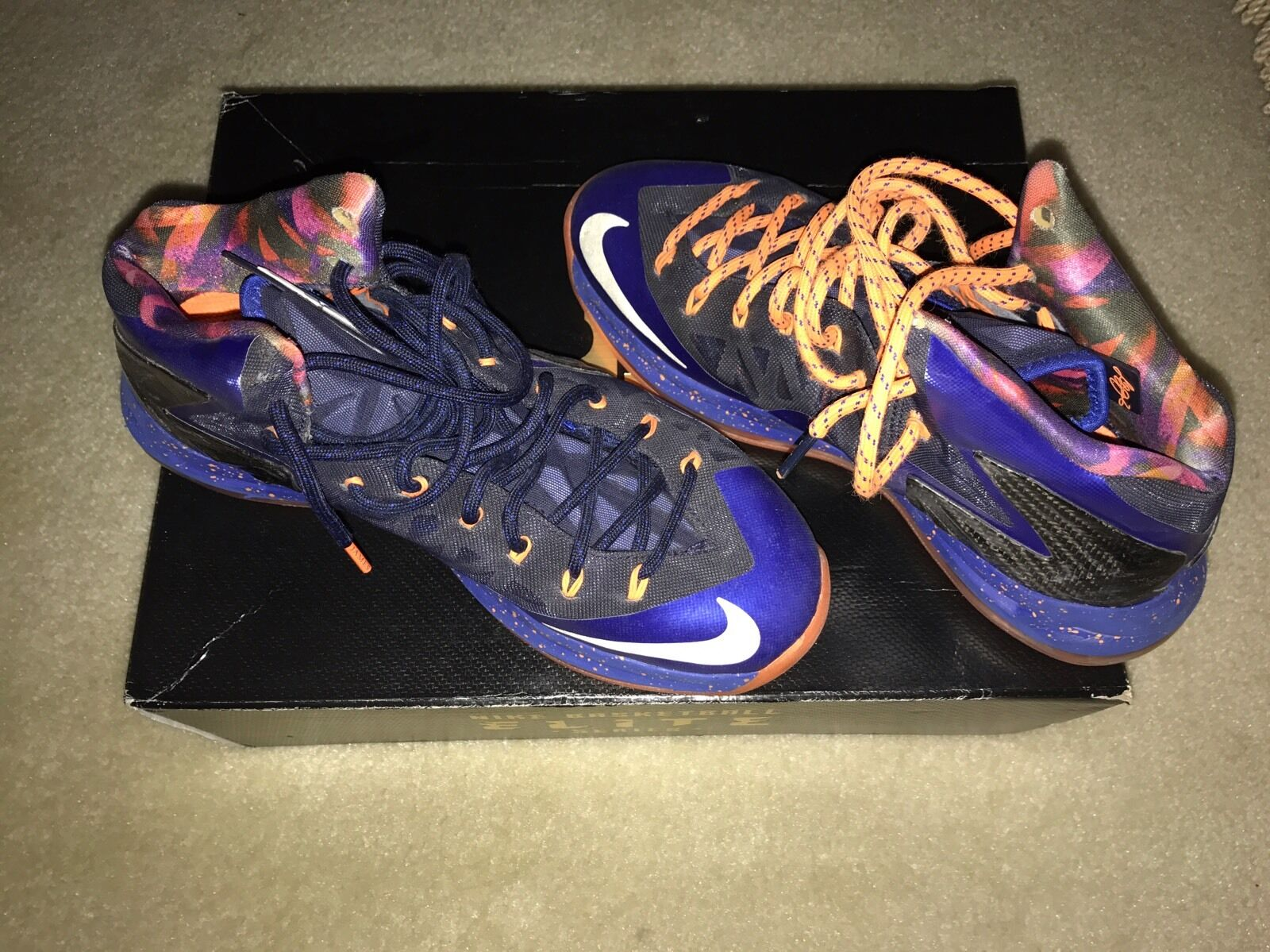 Lebron X P.S. Elite Superhero Basketball shoes Jordan Nike