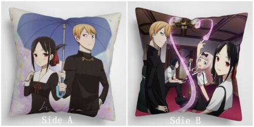 Kaguya sama wa Kokurasetai Anime Two Sides Pillow Cushion Case Cover
