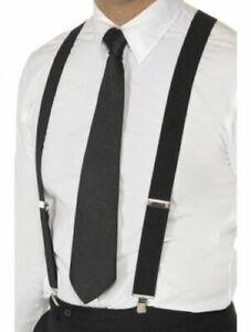 Unisex Elastic Y-Shape Braces Mens Womens Adjustable Clip-on Suspenders