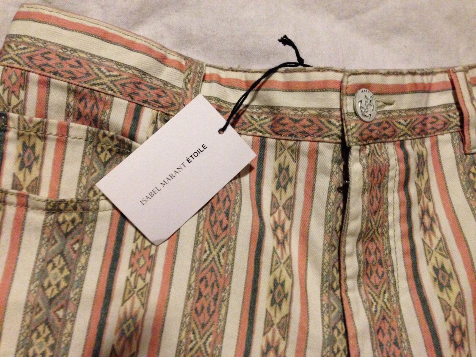 Isabel Marant NWT Tribal Boho Naomi Shorts Size 10 US FR 42