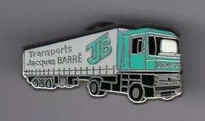 RARE-PINS-PIN-039-S-CAMION-TRUCK-WAGEN-RENAULT-TRANSPORT-BARRE-POINCY-77-ER