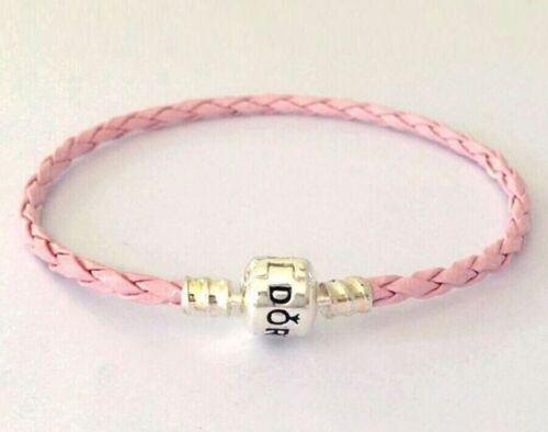 Fashion Bracelets En Cuir Chaîne Bangle Fit 925 European Charms Beads