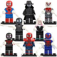 Chromed Marvel Comics Lego Moc Minifigure Gift Toys Silver Surfer