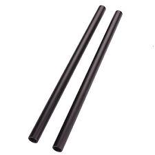 DSLR 15mm 2Pcs 30cm Rods  For DSLR Follow Focus Baseplate Mount 5D2 5D3 BMCC GH1