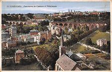 BR44237 luxembourg panorama de clausen et ville haute luxembourg