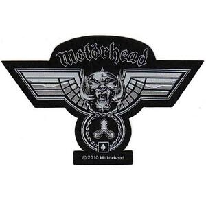 OFFICIAL-LICENSED-MOTORHEAD-HAMMERED-CUT-OUT-SEW-ON-PATCH-METAL-LEMMY
