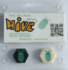 Hive Pocket The Pillbug Expansion Pocket Size Adds 2 Pieces Gen 42 Tile Game