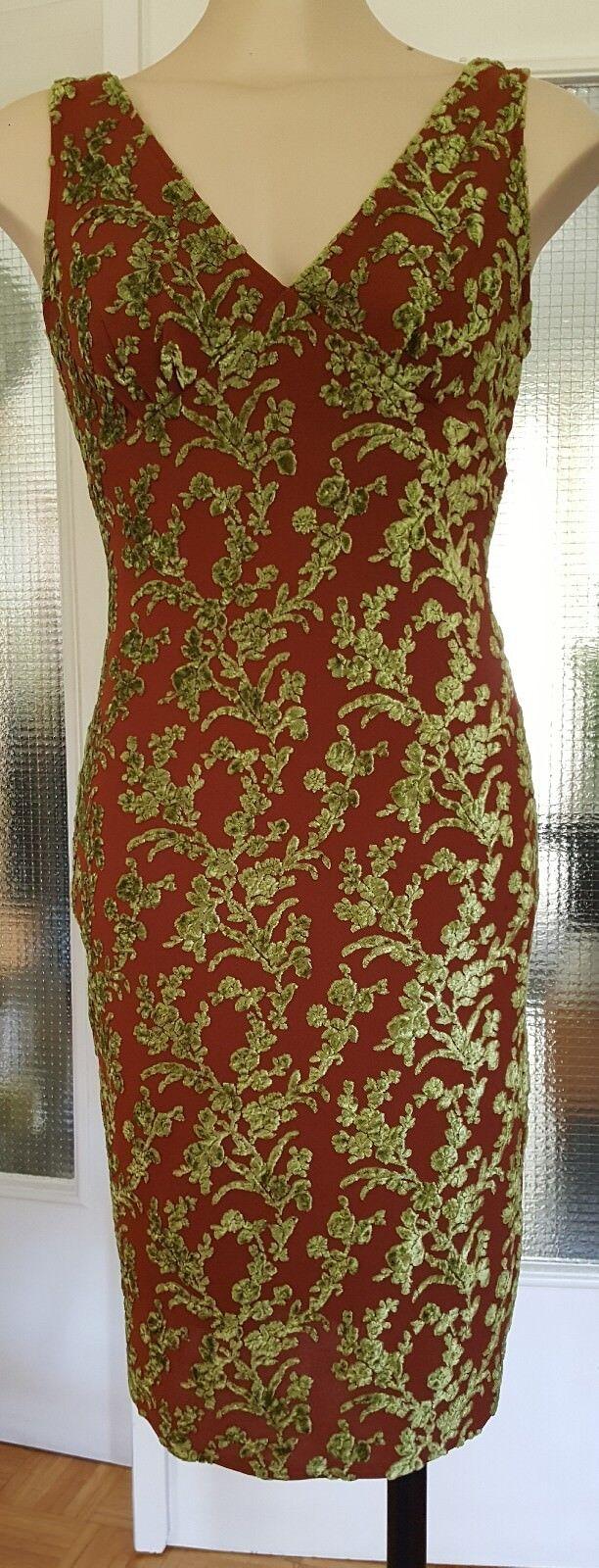 Etuikleid Cocktailkleid Shiftkleid Bisou Bisou Michele Bohbot aus den USA Gr.S