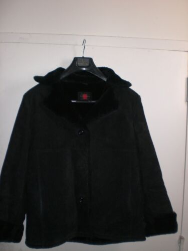 Black d'occasion cuir en Veste Gallery noire 0wOPX8nk