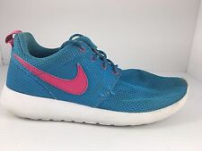 92468888d277 item 4 NIKE Girls Roshe Run (GS) Size 5.5 Youth Blue + Pink Running Shoes  599729-400 -NIKE Girls Roshe Run (GS) Size 5.5 Youth Blue + Pink Running  Shoes ...