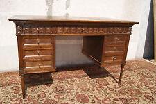 *+ Kleiner Gründerzeit Damen - Schreibtisch in Eichenholz +*