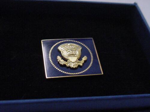 President DONALD TRUMP  VIP Square Cobalt Lapel Pin