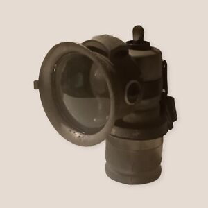Miller No 4a Carbide bicycle lamp front light head motorcycle