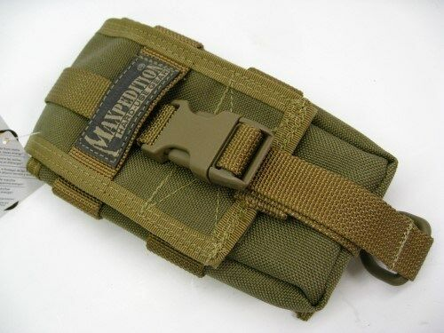 Maxpedition PT1027K Khaki Lightweight Nylon Tc-1 Multi-Purpose Tool Pouch