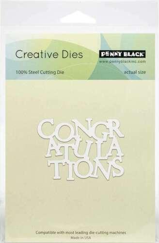 Penny Black Creative Dies Congratulations 759668514397