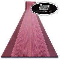 Modernen Preiswert Antirutsch Läufer AW CARNABY lila Breite 67,80,100cm teppiche