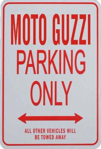 Miniature Fun Parking Sign MOTO GUZZI PARKING ONLY