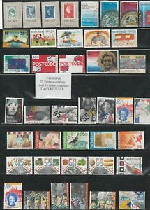 72-timbres-des-PAYS-BAS-obliteres-10-Series-tres-bon-etat-identique-au-scan