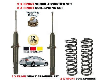 FOR JAGUAR X TYPE 2001-2009 NEW 2x FRONT SHOCK ABSORBER SET 2 X COIL SPRINGS