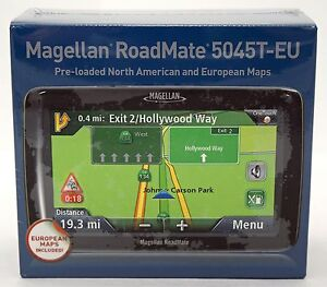 Image Is Loading New Sealed Magellan Roadmate T Eu Gps Traffic