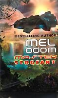 Master Sergeant By Mel Odom Science Fiction Book Club Hardcover Halo Universe