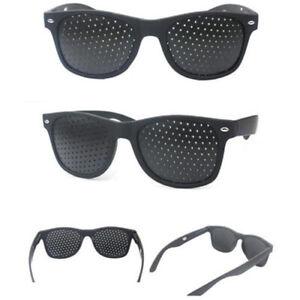 NEW-Exercise-Eye-Care-Pinhole-Pin-Hole-Glasses-Vision-Improve-Eyewear-Eyesight