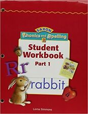 Saxon Phonics and Spelling 2: Phonics and Spelling 2 Set by Lorna Simmons (2002, Paperback, Student Edition of Textbook, Supplement, Workbook)