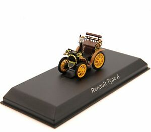 1-43-NOREV-Renault-Type-A-Diecast-Alloy-Car-Vehicle-Collection-Model-Toys-Gifts
