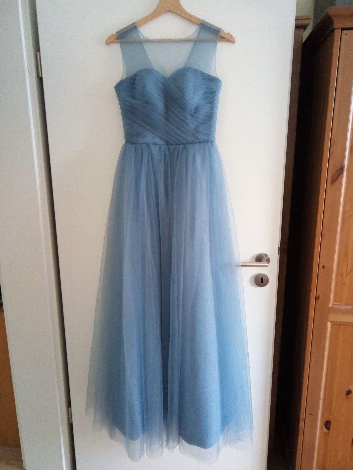 Sehr schönes Kleid zur Hochzeit Standesamt feierlich (36) Graublau | Berühmter Laden  | Sale Outlet  | Neues Design