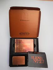 ZIPPO RARE MARLBORO BLEND 27 COPPER LIGHTER & CARDS PROMO NEW, BOXED, UN FIRED