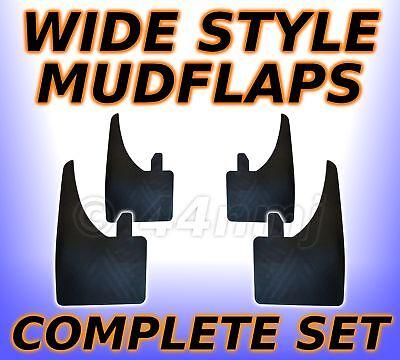 4x WIDE Rubber Mud Flaps FRONT /& REAR Mudflaps Universal Renault Traffic Van