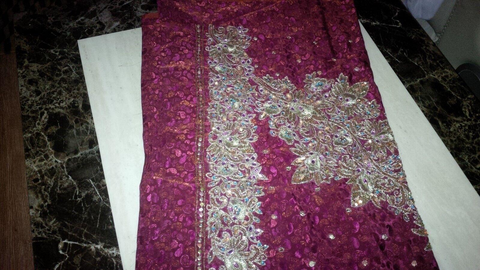 salwar kameez Punjabi unsitched ladies suit NEW UK FREE POST