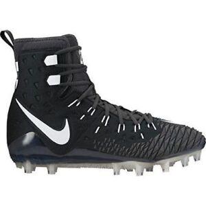 1970de471 Nike Force Savage Elite TD Football Cleat Black White 857063-011 Men ...