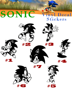 Looks Like Not Sonic The Hedgehog Video Game Vinyl Decal Sticker Car Wall