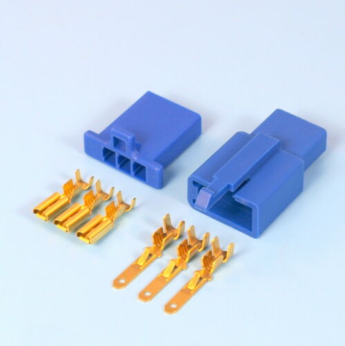 Quality 2.8mm Blue Mini Connector Kits 2 3 4 6 9 Way Motorbike Motorcycle Car