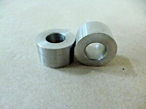 """3//8/"""" ID X 7//8/"""" OD X 1/"""" TALL STAINLESS STEEL STANDOFF SPACER BUSHING 2Pcs"""
