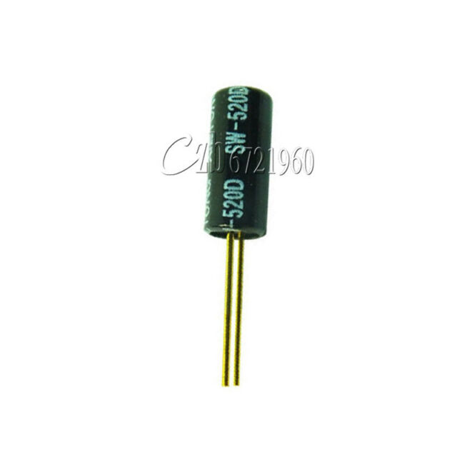 10PCS SW-520D Vibration Sensor Dual Metal Ball Tilt Shaking Switch