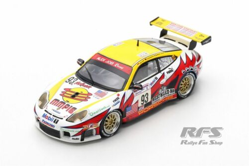 Porsche 911 996 gtr3 RS 24h le mans 2003 Alex Job racing 1:43 Spark 5527 nuevo