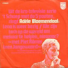 """ADELE BLOEMENDAAL - We Zijn Toch Op De Werled/Lena (1969 VINYL SINGLE 7"""")"""